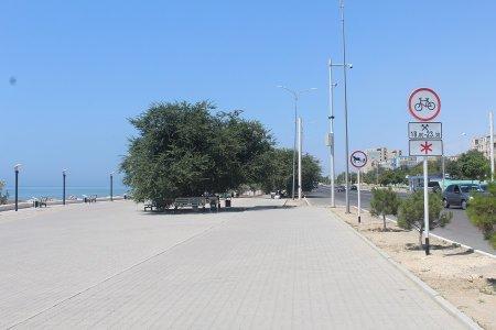 Азамат Сарсенбаев: Ограничение движения велосипедистов по набережной Актау вступило в силу