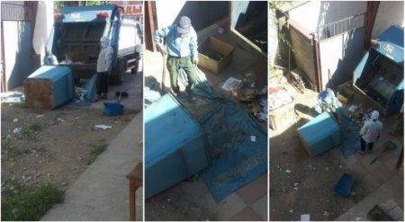 Уборщики мусора оштрафованы за надругательство над флагом Казахстана в Шымкенте