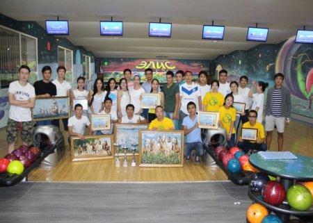 В Актау провели турнир по боулингу среди студентов