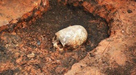 """На границе с Казахстаном найдена могила """"пришельца"""""""