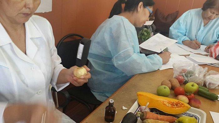 Назгуль Турганалиева: Почти 10 процентов проверенных нами овощей и фруктов содержат нитраты