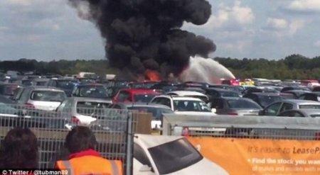 В сети появилось видео катастрофы самолета семьи бен Ладена