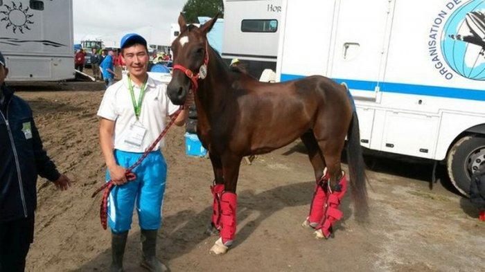Команда Мангистау стала первой на соревнованиях по дистанционным конным бегам в России