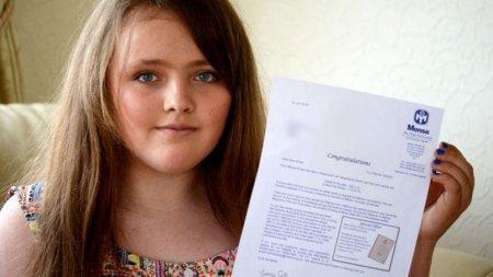 12-летняя британская школьница превзошла по уровню интеллекта Стивена Хокинга и Альберта Эйнштейна