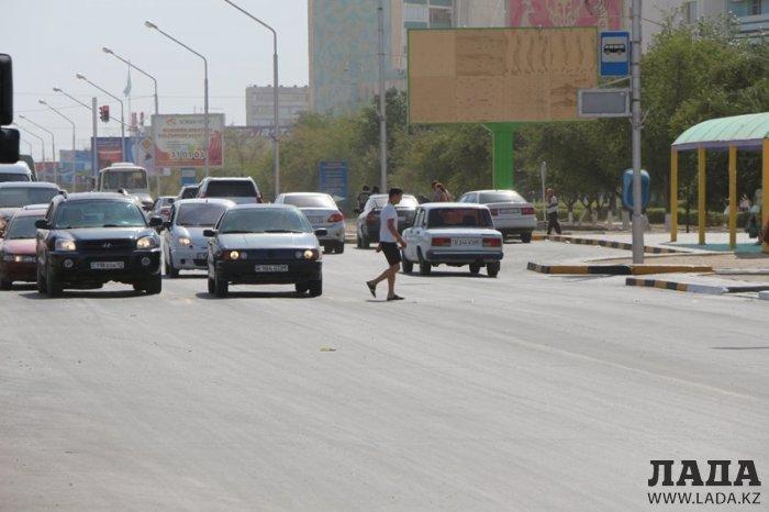 В Актау стартовала акция «Внимание, пешеход»