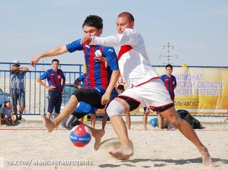 Команда ДЮСШ-84 из Актау примет участие в розыгрыше Кубка Казахстана по пляжному футболу
