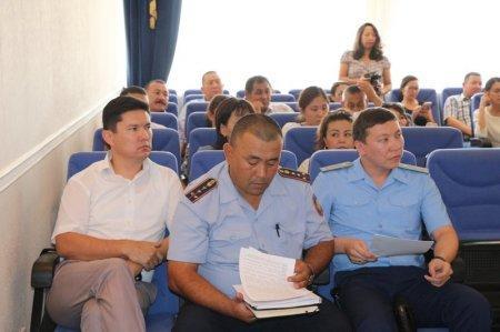 Итоги работы по принципу «нулевой терпимости» обсудили в акимате Актау