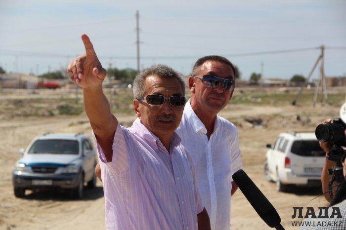 Токтасын Асенов: Голый солончак у поселка Умирзак мы покроем плодородным грунтом