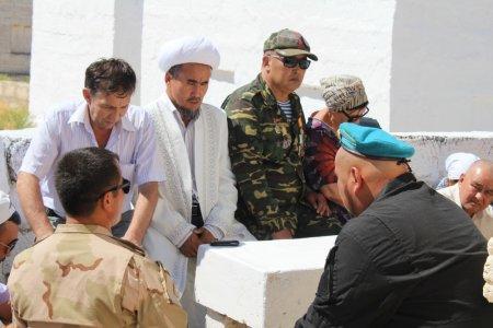 В Баутино почтили память героя афганской войны Калмырзы Беришбаева