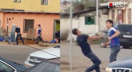 Уличные бои в Астане засняли очевидцы