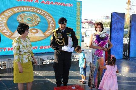 В Актау чествовали лучших военнослужащих