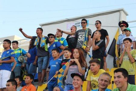 Футбольный клуб «Каспий» сыграл вничью с Усть-Каменогорским «Востоком»