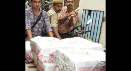 Полиция сутки считала деньги индийского взяточника