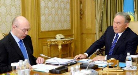 Назарбаев встретился с Келимбетовым