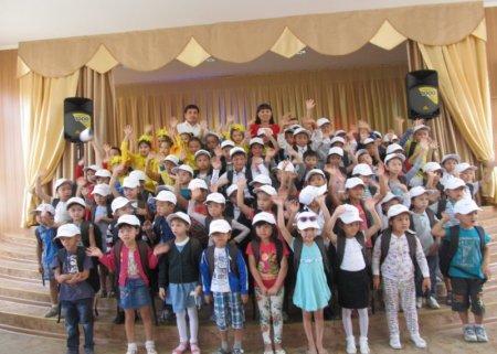 Актауские бизнесмены и предприниматели приняли участие в  республиканской акции «Дорога в школу»