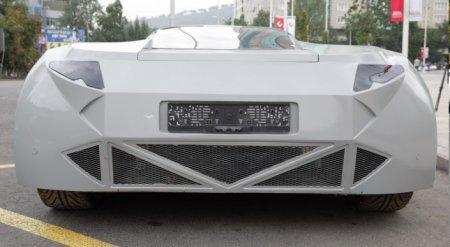 Первый казахстанский электромобиль планируют презентовать в октябре