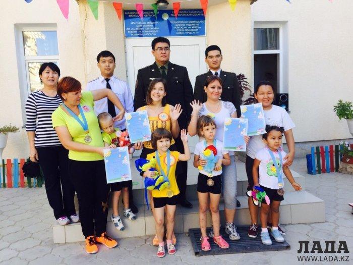 Спасатели провели соревнования «Моя мамочка и я – спортивная семья»