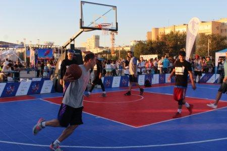 В рамках «Aktau Open Fest» стартовал открытый чемпионат Казахстана по баскетболу 3х3
