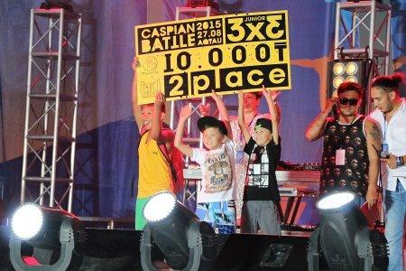 В Актау наградили победителей фестиваля «Aktau Open Fest»