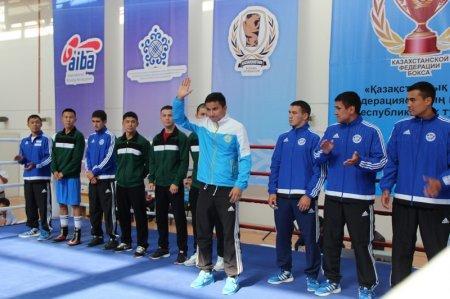 Сборная Мангистау вышла в полуфинал Кубка Казахстанской федерации бокса