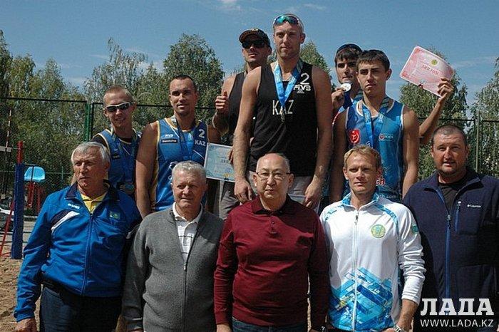Актауские пляжные волейболисты выиграли чемпионат Казахстана