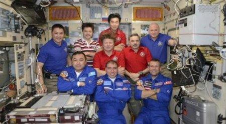 Снимки Астаны и Каспия из космоса опубликовали члены экипажа МКС