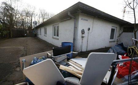 Германия разместила беженцев на территории концлагеря Бухенвальд