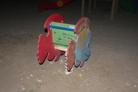 Детскую площадку в 14 микрорайоне Актау восстановили