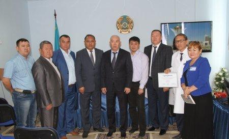 Отделению реанимации Жанаозенской детской больницы передали медицинское оборудование