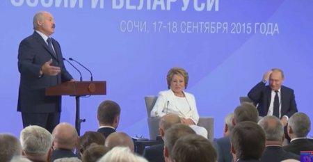 Лукашенко рассмешил Путина рассказами о разбавленном молоке