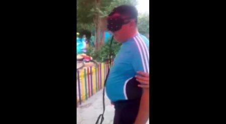 Жуткое видео: Девочка попала под поезд в парке развлечений
