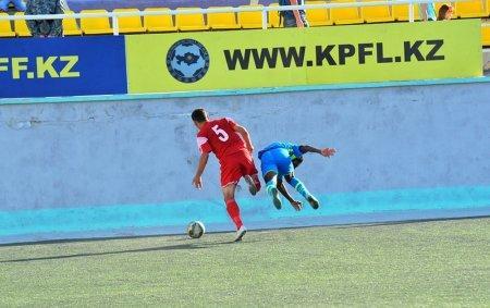 Футбольный клуб «Каспий» сыграл вничью с «Мактааралом»