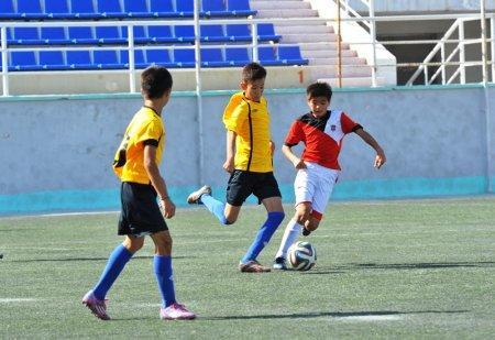 В Актау завершился полуфинальный этап детско-юношеского Первенства РК по футболу