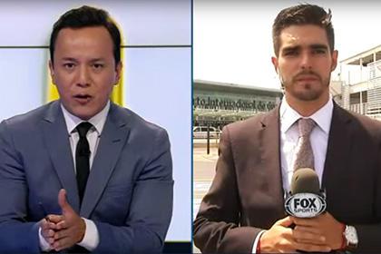 Репортер Fox попал под машину в прямом эфире
