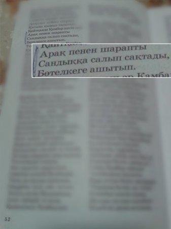 """В МОН прокомментировали учебник с """"пьющим"""" казахским батыром"""