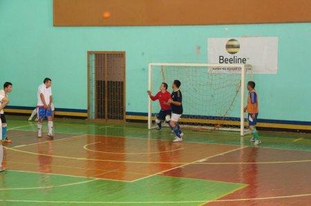 Полицейские Актау организовали турнир по футзалу в честь Дня уголовного розыска