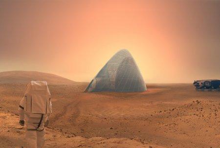 НАСА заинтересовала колонизация Марса при помощи ледяных домов