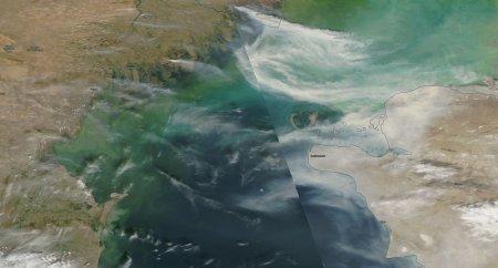 Актау затянул смог