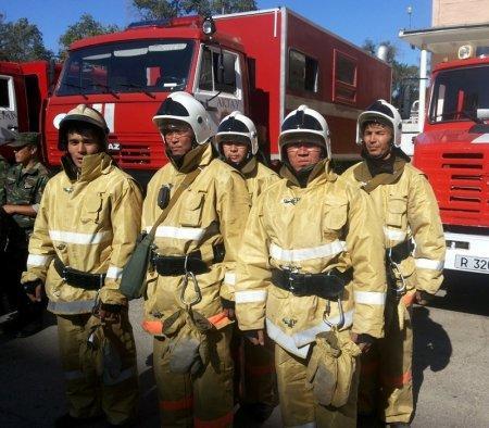 Пожарные Мангистау провели учения в ТОО «МАЭК Казатомпром»