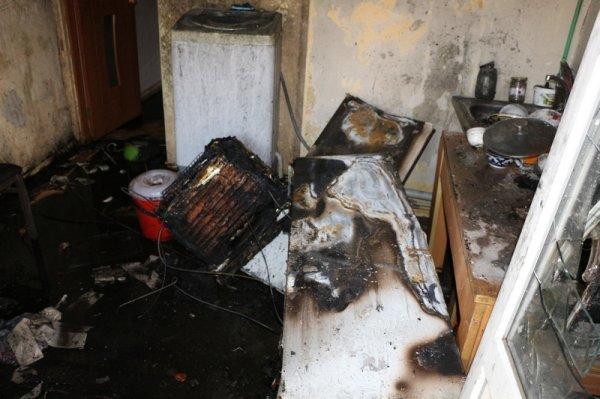 Холодильник послужил причиной пожара и эвакуации жителей из центра адаптации оралманов в Актау
