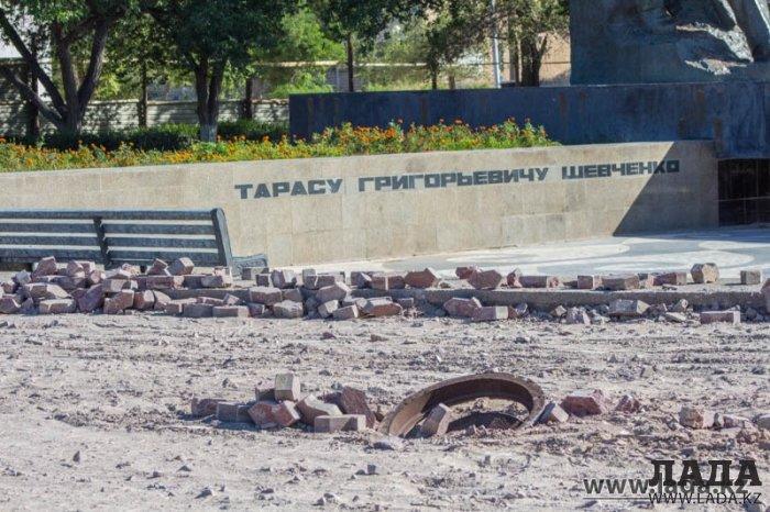 Тарас Шевченко после реконструкции