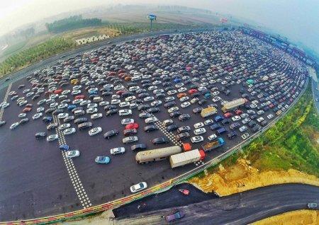 Рекордные пробки в Пекине