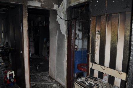 Владелец сгоревшей квартиры в 4 микрорайоне Актау отказывается от помощи