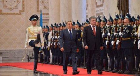 Назарбаев об Украине: Мы находим взаимопонимание