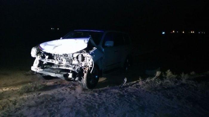 Четыре человека пострадали в результате столкновения «УАЗа» и внедорожника в Мангистау