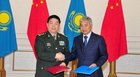 Китай бесплатно передаст технику казахстанской армии
