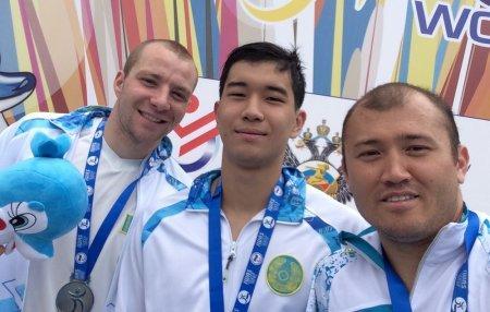 Мангистауский пловец Куаныш Аскар стал призером Всемирных игр IWAS