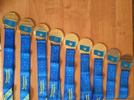 Мангистауская команда по парусному спорту привезла семь золотых медалей