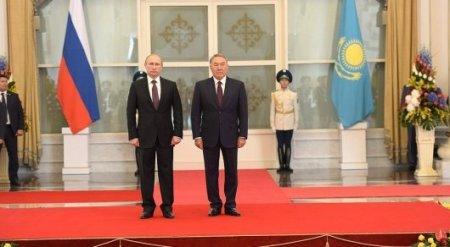 О чем говорили Назарбаев и Путин в Астане