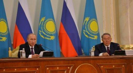 Путин рассказал Назарбаеву о ситуации в Сирии